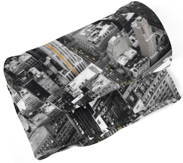 Deka Pohľad do ulice (Rozmer: 150 x 120 cm)
