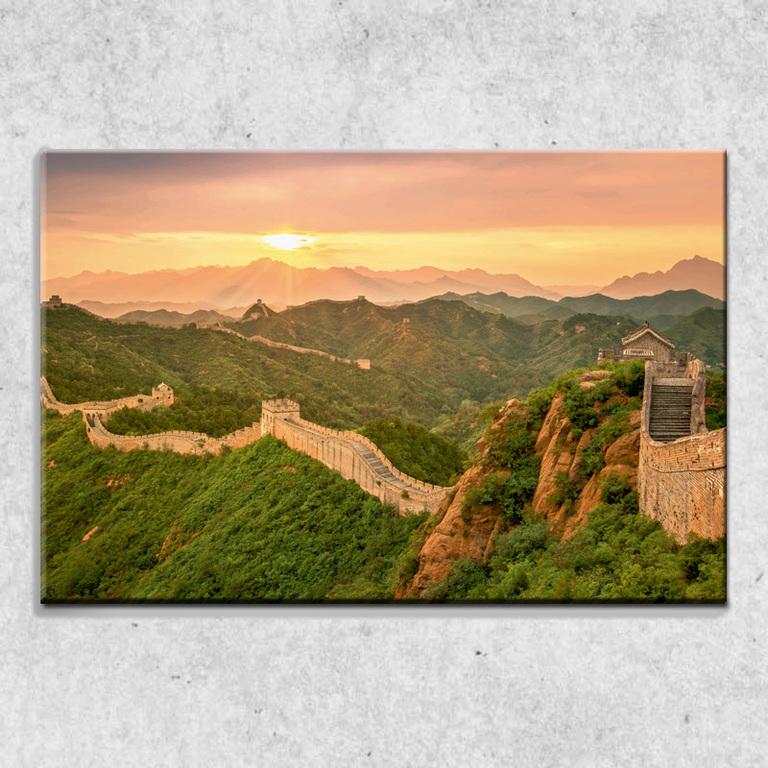 Foto na plátne Čínsky múr 90x60 cm