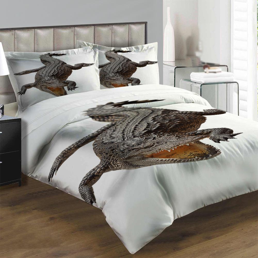 Obliečky Krokodýl (Rozmer: 1x140/200 + 1x90/70)