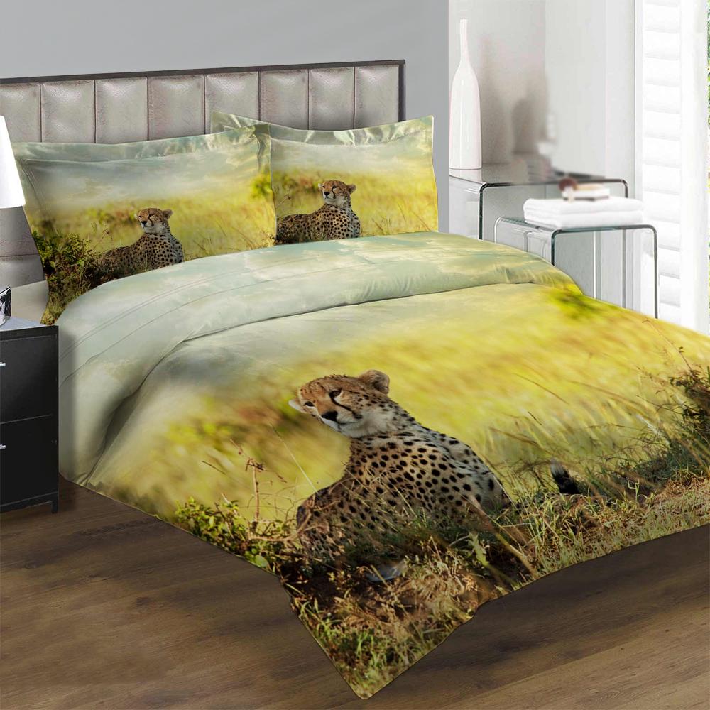 Obliečky Gepard (Rozmer: 1x140/200 + 1x90/70)