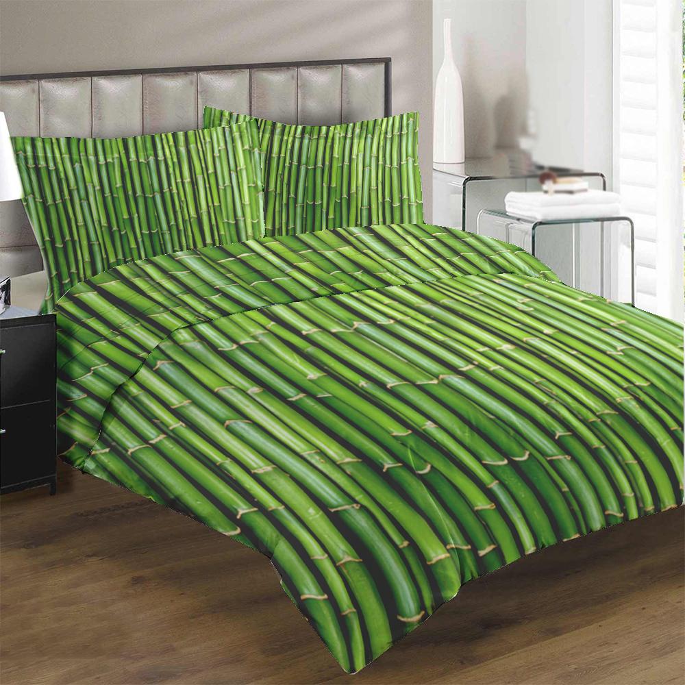 Obliečky Bambus (Rozmer: 1x140/200 + 1x90/70)