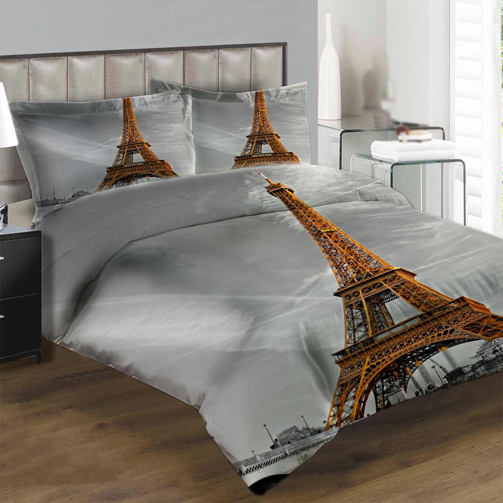 Obliečky Paríž (Rozmer: 1x140/200 + 1x90/70)