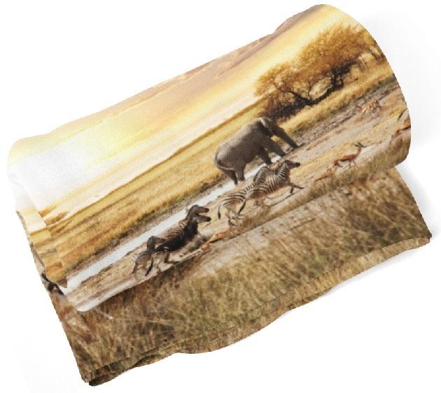 Deka Safari (Rozmer: 150 x 120 cm)