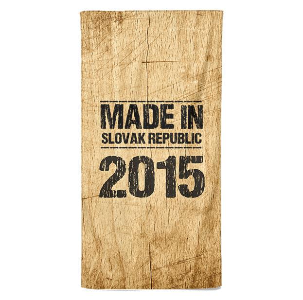 Osuška Made In (rok: 2015)