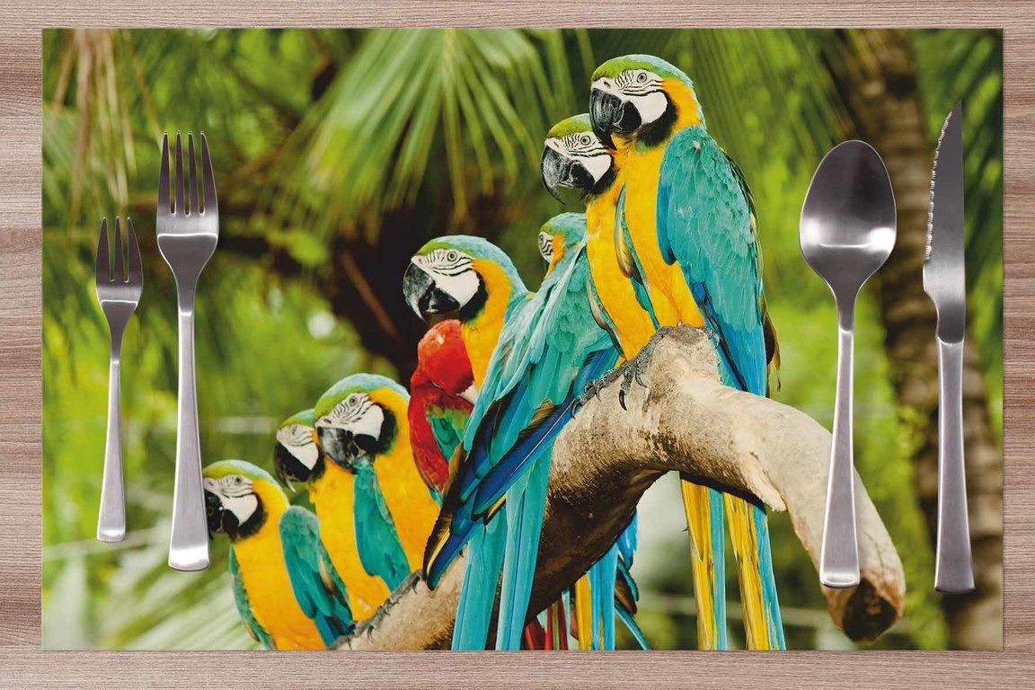 Prestieranie Papagáje