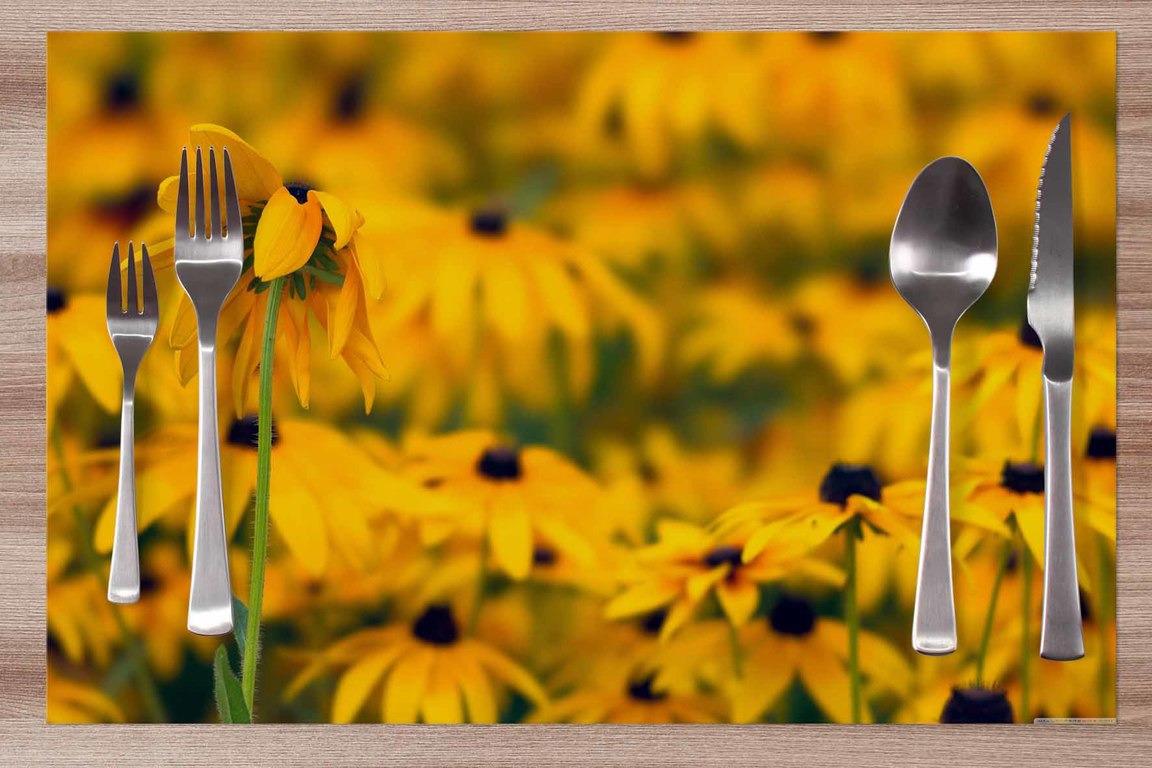 Prestieranie Žlté kvety