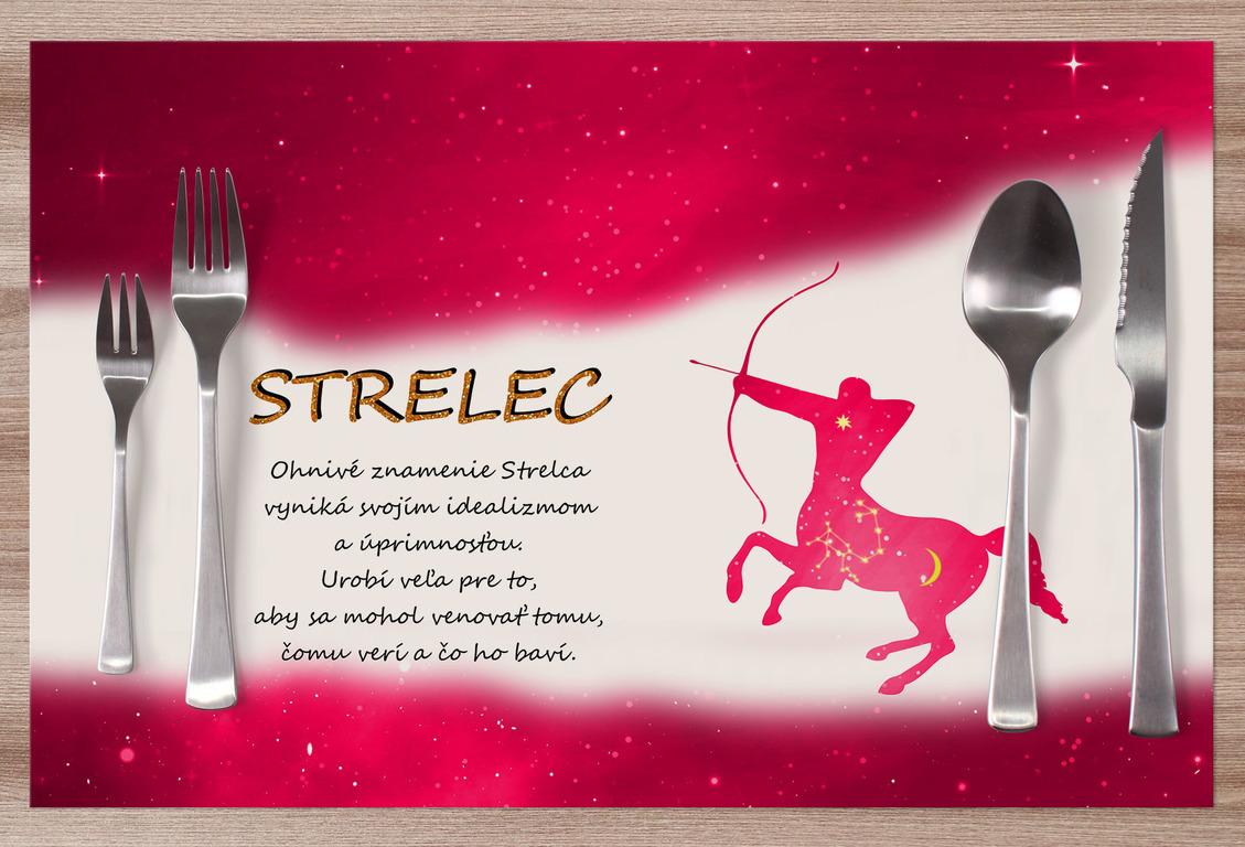 Prestieranie Strelec (23.11. - 21.12.) - červené