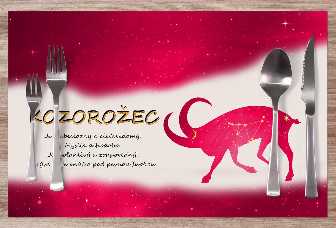 Prestieranie Kozorožec (22.12. - 20.1.) - červené