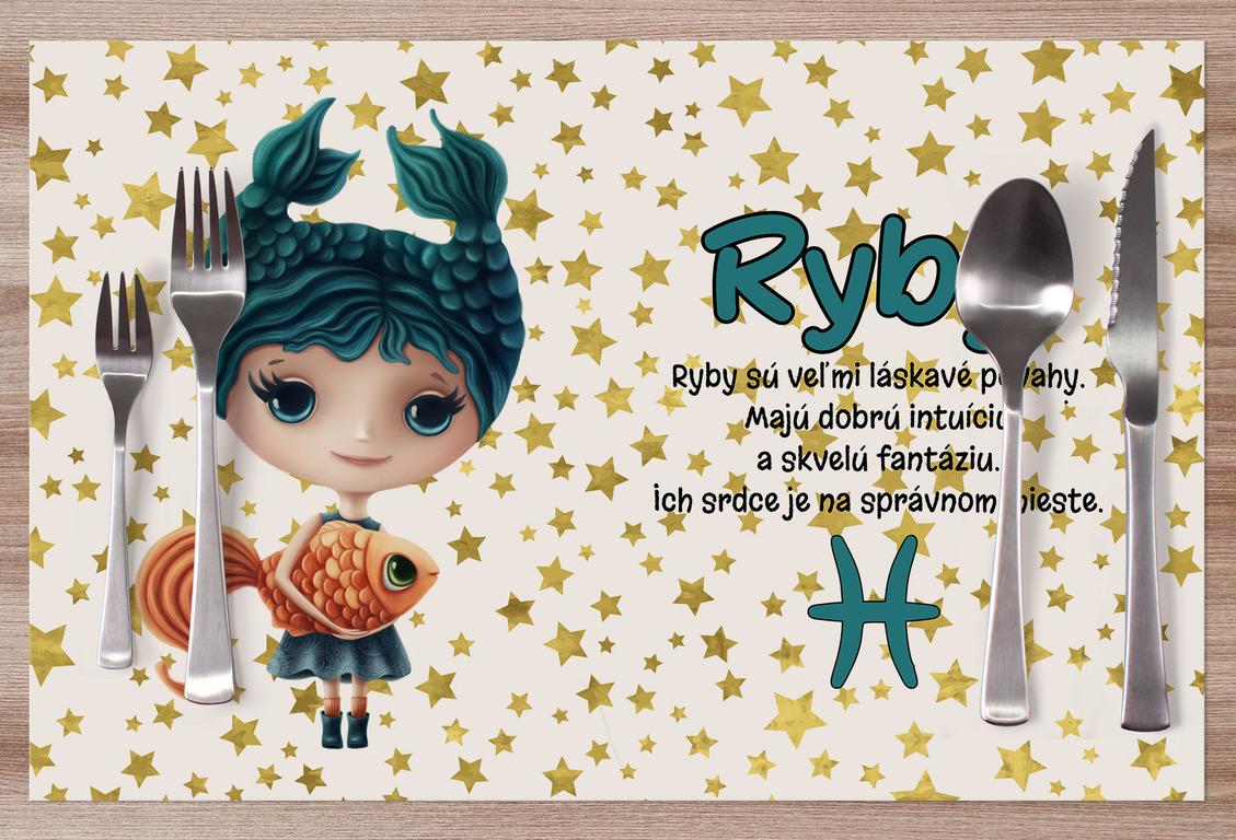 Prestieranie Znamenie pre deti Ryby (21.1. - 20.3.)