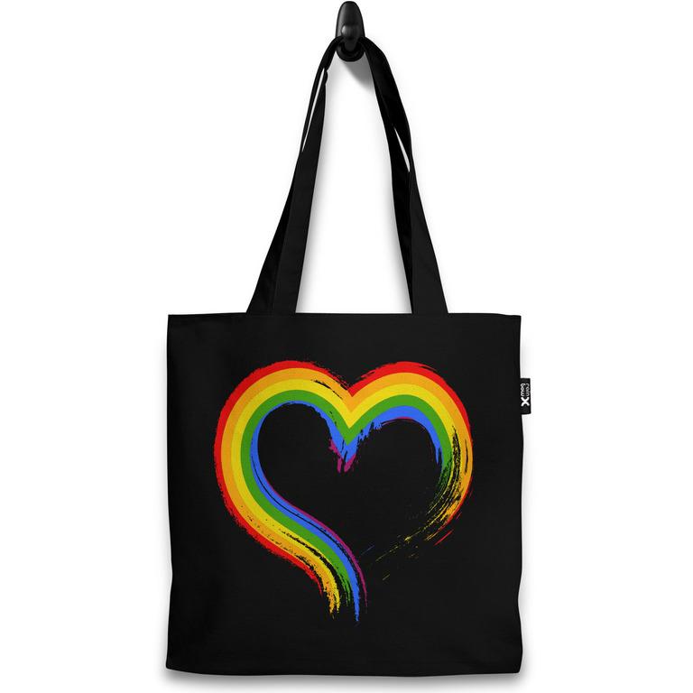 Taška LGBT heart